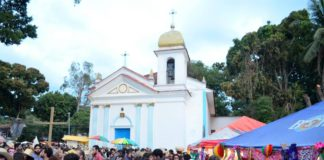There have been many varied and exciting 'festas' or 'arraiás' (parties) taking place throughout the city of Rio, such as this classic event on the island hideaway of Ilha de Paquetá (Paquetá island), Rio de Janeiro, Brazil, Brazil News