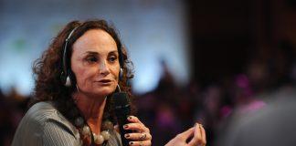 Brazil,Economist Elena Landau speaks at Ethos Conference in São Paulo about presidential elections in Brazil,